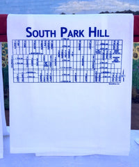 South Park Hill Tea Towel