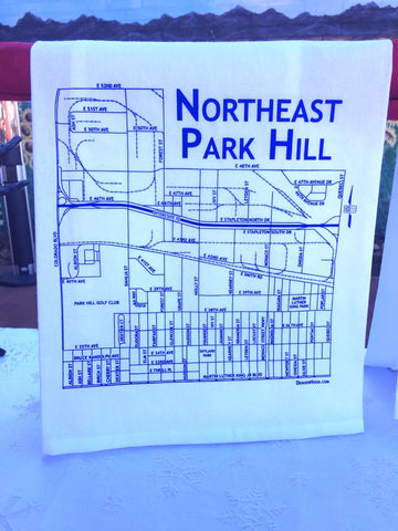 Northeast Park Hill Tea Towel