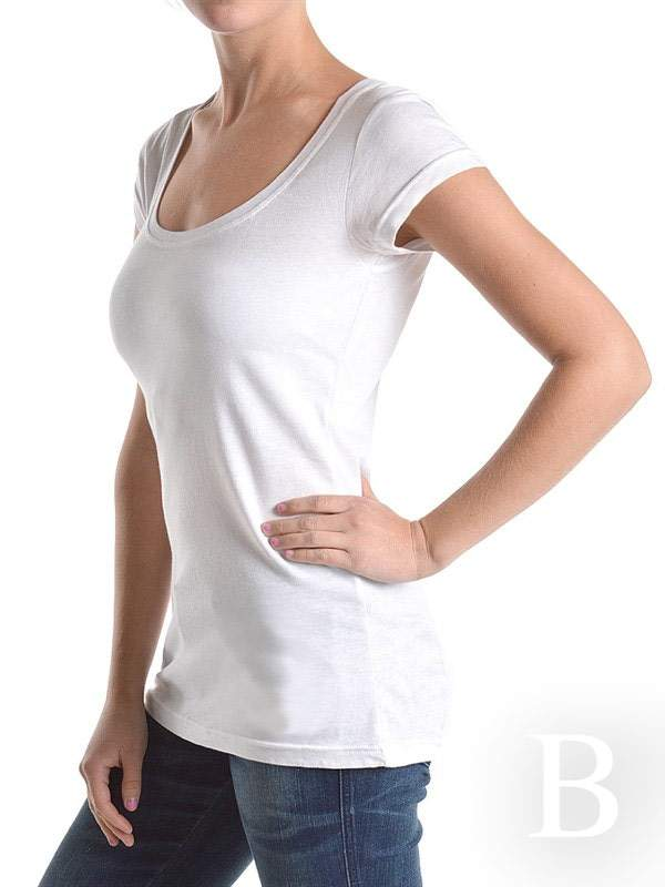 Round Neck Perfect T-Shirt in Plus