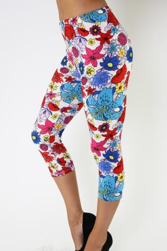 In Full Bloom Capris