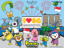 Load image into Gallery viewer, Busy Mat Premium Pororo Collaboration Series: Pororo Loves Singapore