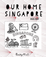 Load image into Gallery viewer, Busy Mat Travel Series: My Home, Singapore