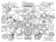 Load image into Gallery viewer, Busy Mat Premium Pororo Collaboration Series: Mystical Halloween