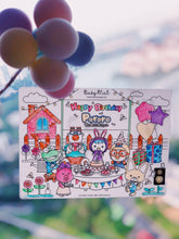 Load image into Gallery viewer, Busy Mat Premium Pororo Collaboration Series: Pororo Celebrates
