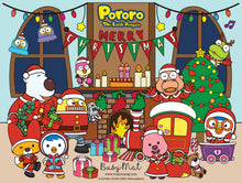 Load image into Gallery viewer, Busy Mat Premium Pororo Collaboration Series: Christmas at Home 🎄