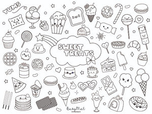 Busy Mat Travel Series: Sweet Treats