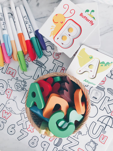 [BACKORDER ETA 10 Jun] ABC Play and Learn Wooden Alphabets