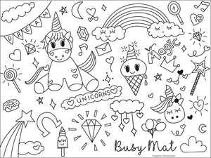 Busy Mat Travel Series: 🦄 Unicorn Magic