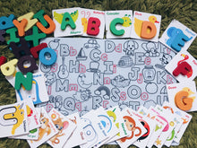 Load image into Gallery viewer, ABC Play and Learn Wooden Alphabets