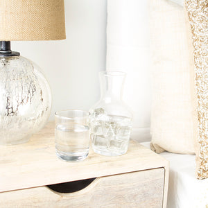 Personalized Bedside Water Carafe Set