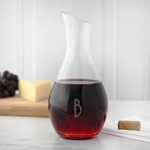 Personalized Aerating Wine Decanter