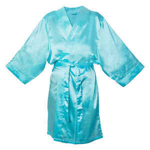 Personalized Satin Robe (More Colors Available)