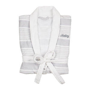 Personalized Turkish Cotton Robe