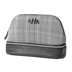 Personalized Glen Plaid Travel Organizer