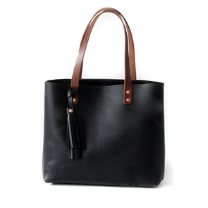 Classic Leather Tote OXFORD BLACK