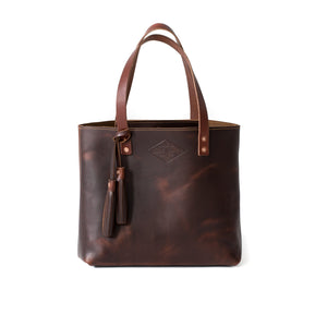Classic Leather Tote OXFORD BROWN