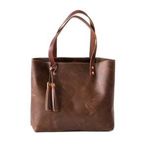 Classic Leather Tote OXFORD NATURAL