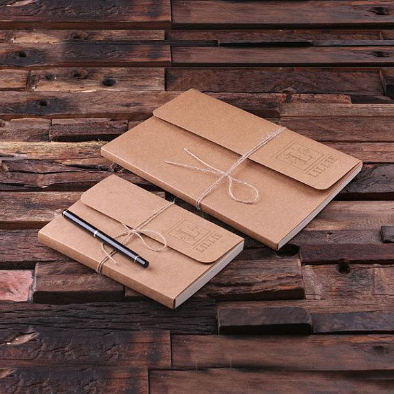 Custom Kraft Paper Journal