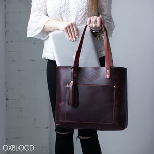 Deluxe Leather Tote
