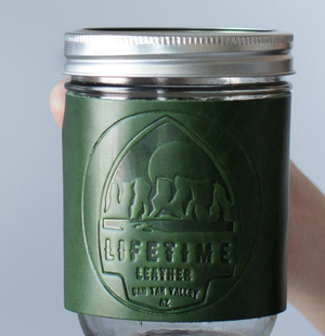 Mason Jar Cozy 16 OZ / EMERALD GREEN