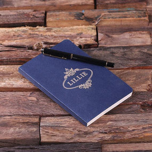 Personalized 4 Pc Journal Gift Set