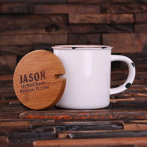 Personalized Ceramic Mug White