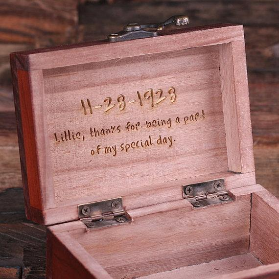 Personalized Rectangular Jewery Box