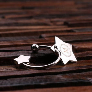 Personalized Star Key Chain