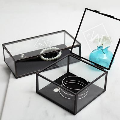 Square Custom Glass Shadow Box