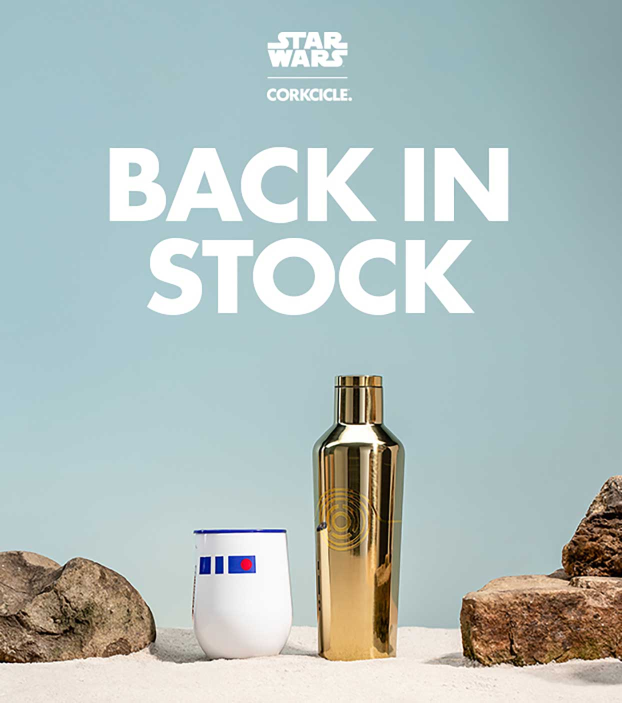 Star Wars is back in stock.