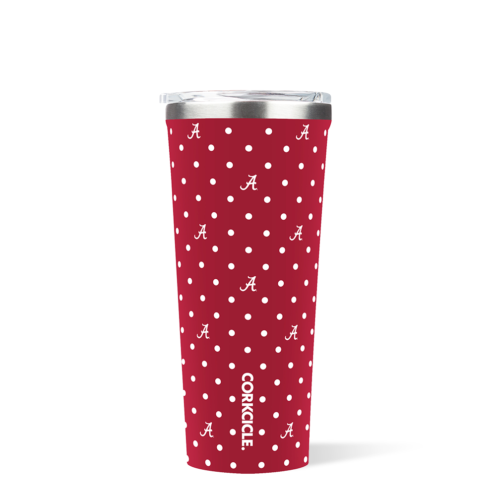 University of Alabama Polka Dot Tumbler