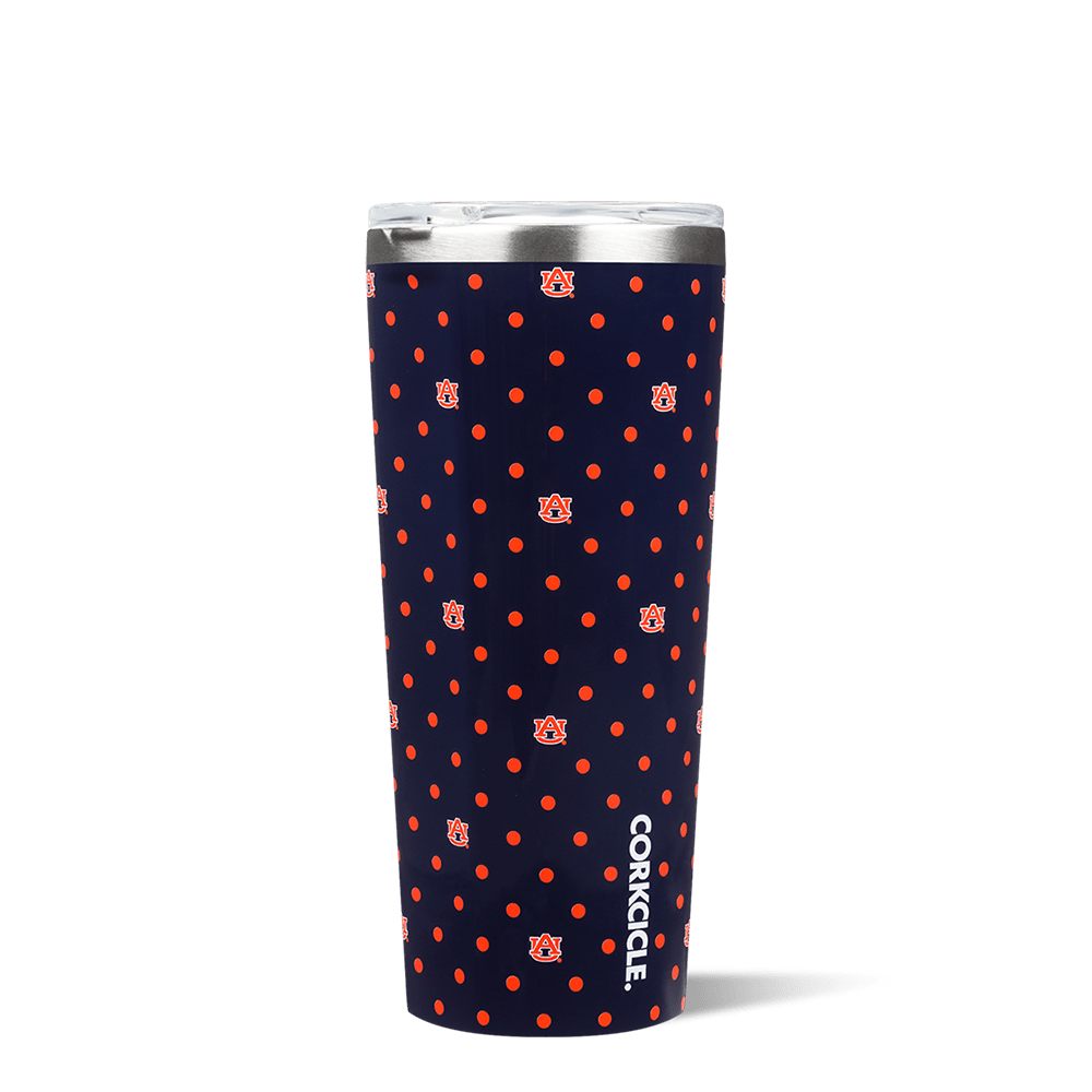 Auburn University Polka Dot Tumbler