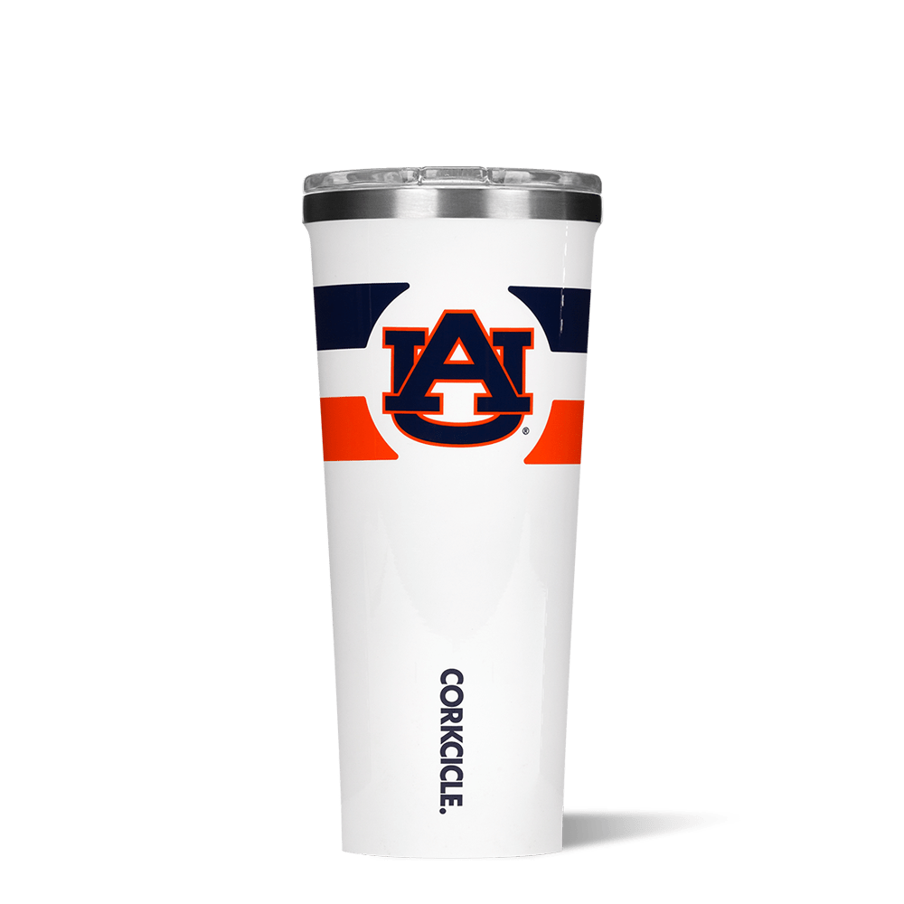 Auburn University Gym Stripe Tumbler