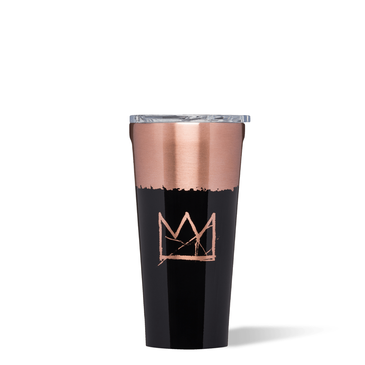 Basquiat Corkcicle Tumbler Crown Image
