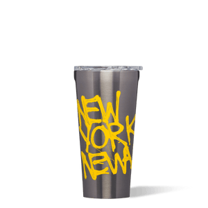Basquiat Corkcicle Tumbler New York New Wave Image