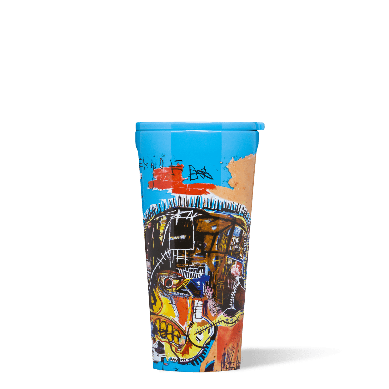 Basquiat Corkcicle Canteen Skull Image