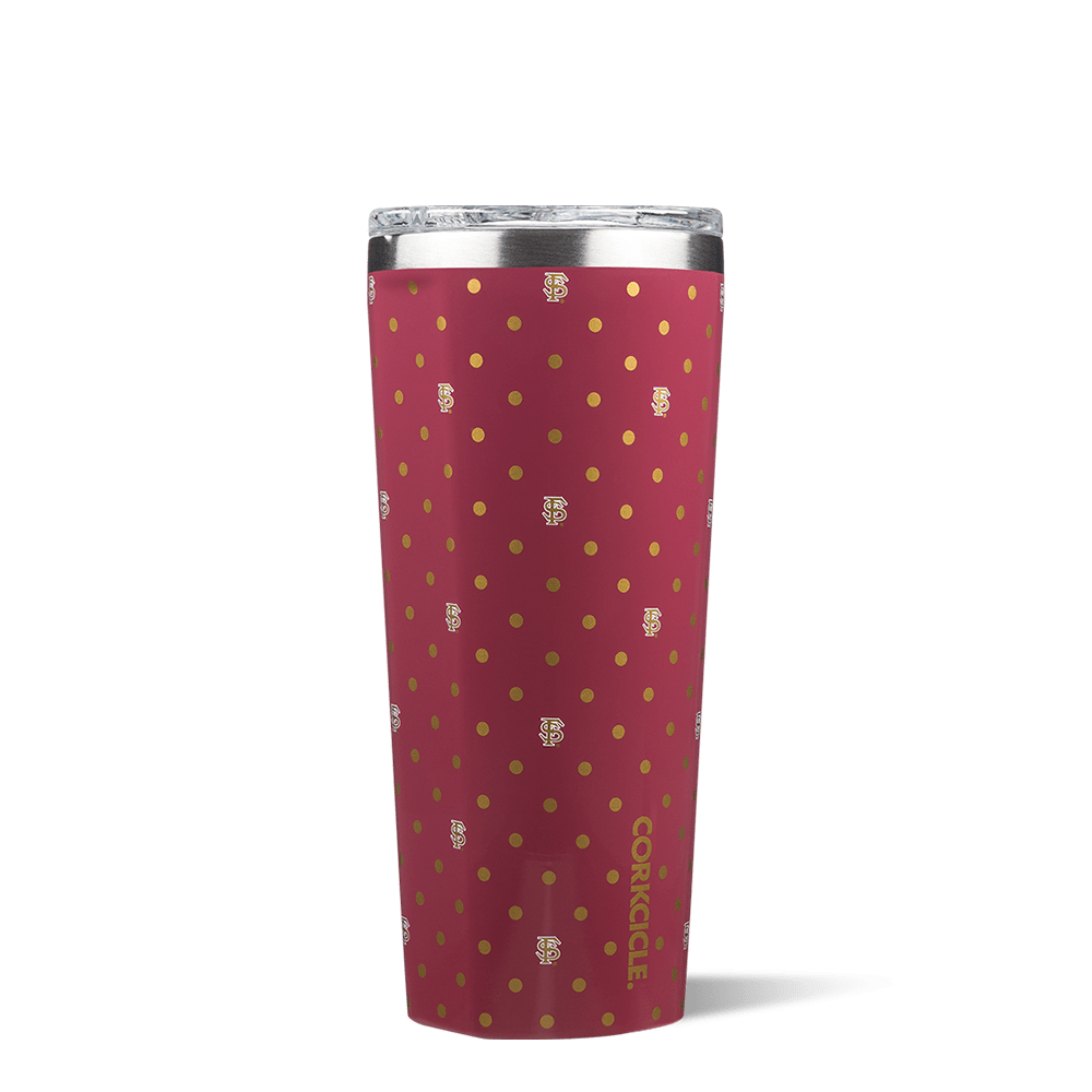 Florida State University Polka Dot Tumbler