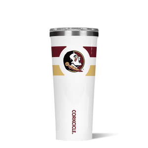 Florida State University  Gym Stripe Tumbler