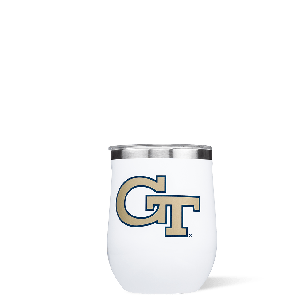 Georgia Tech Stemless Cup