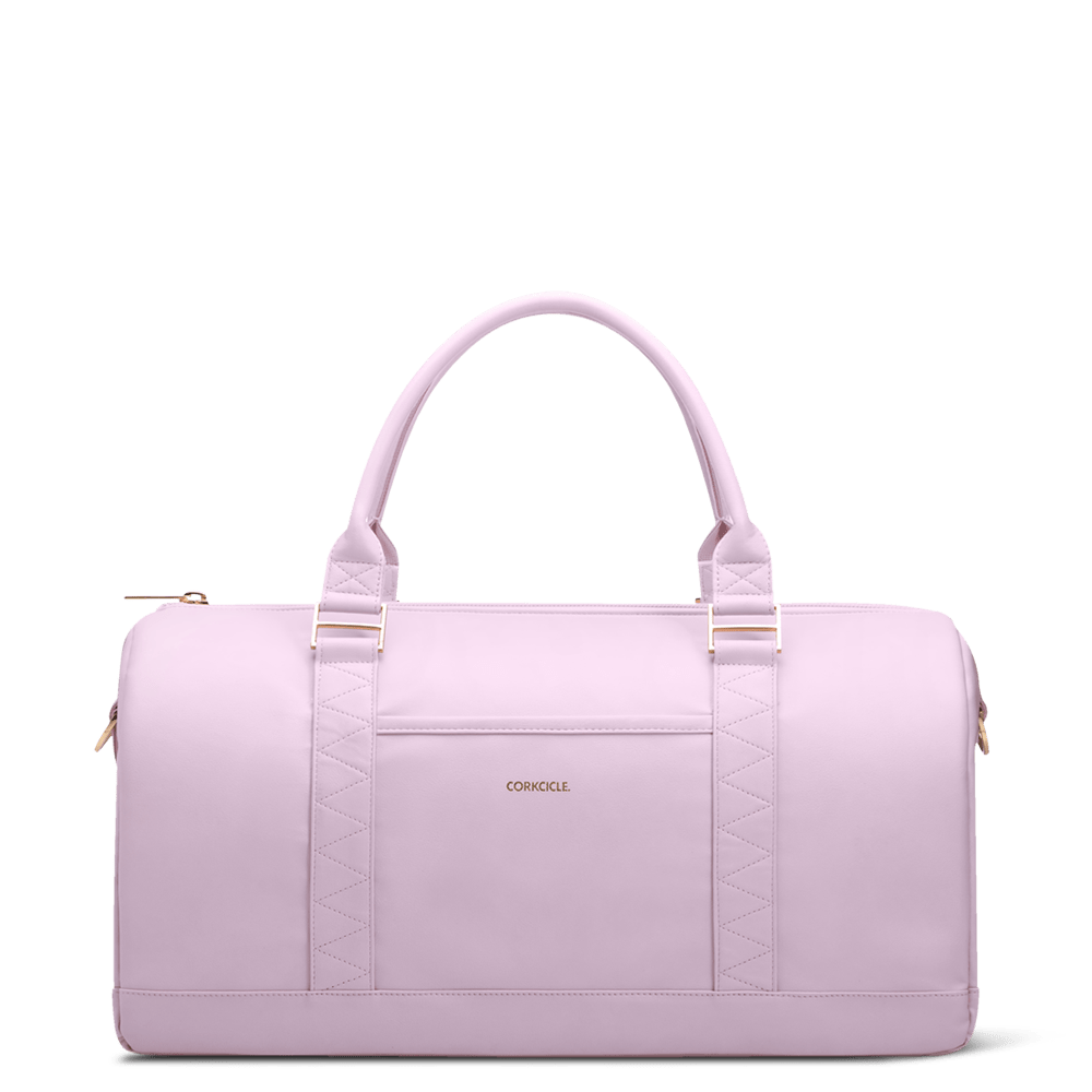 Ivanhoe 24 Duffle Corkcicle Cooler Bag Rose Quartz