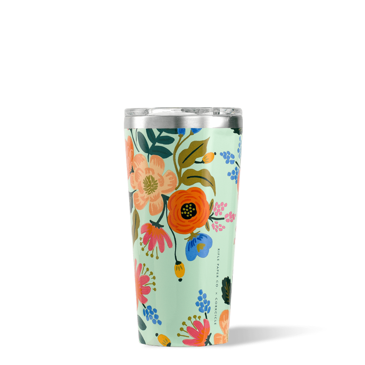 Lively Floral Rifle Paper Co. x Corkcicle 16oz Tumbler