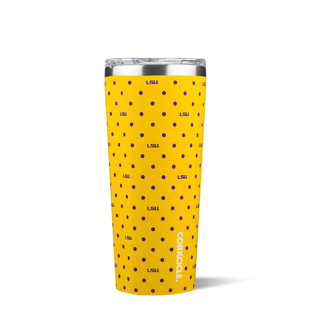 Louisiana State University Polka Dot Tumbler
