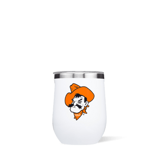 Oklahoma State University Stemless Cup