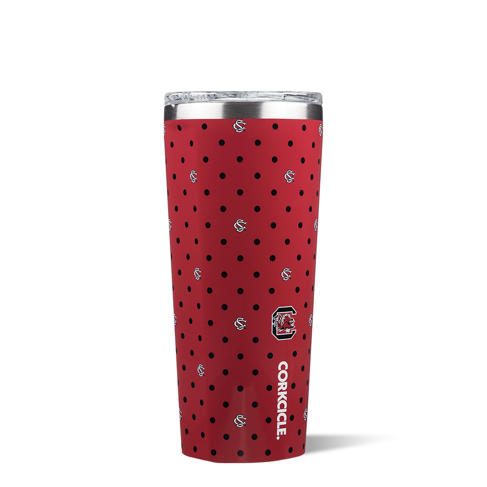 University of South Carolina Polka Dot Tumbler