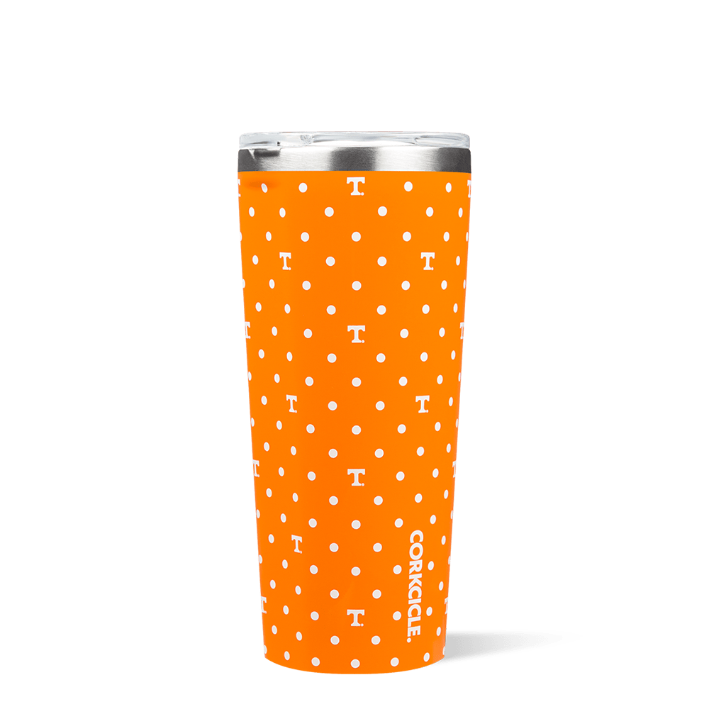 University of Tennessee Polka Dot Tumbler