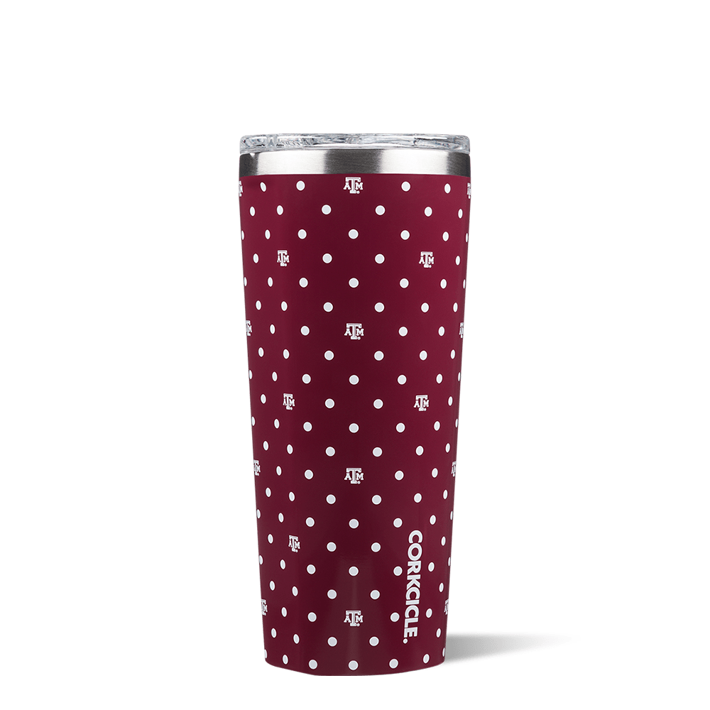 Texas A&M University Polka Dot Tumbler