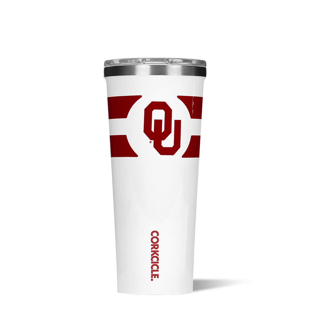 University of Oklahoma Gym Stripe Tumbler