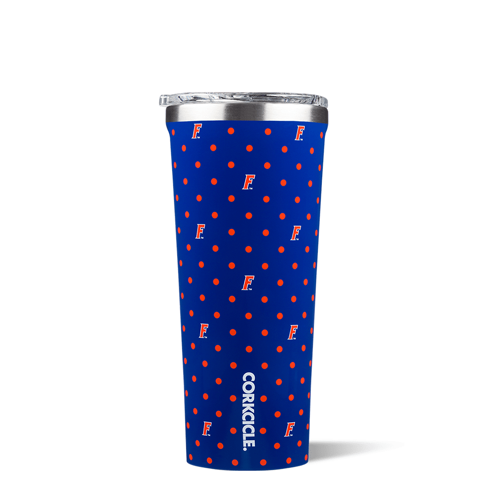 University of Florida Polka Dot Tumbler