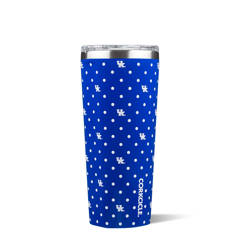 University of Kentucky Polka Dot Tumbler