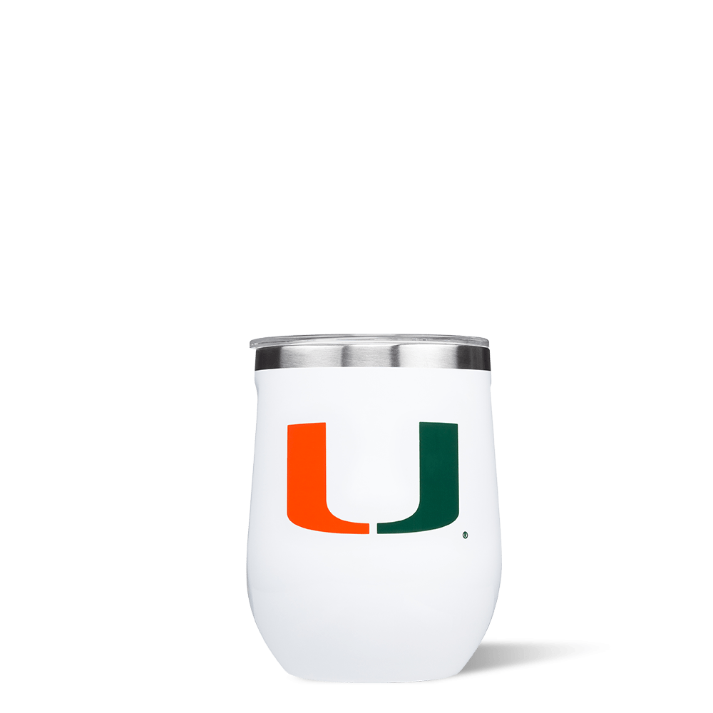 University of Miami Stemless Cup